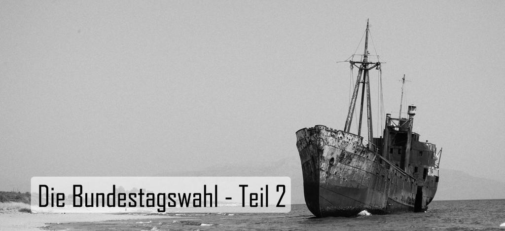 Flaggschiffe und Ruderboote – Kurswechsel in der deutschen Politik